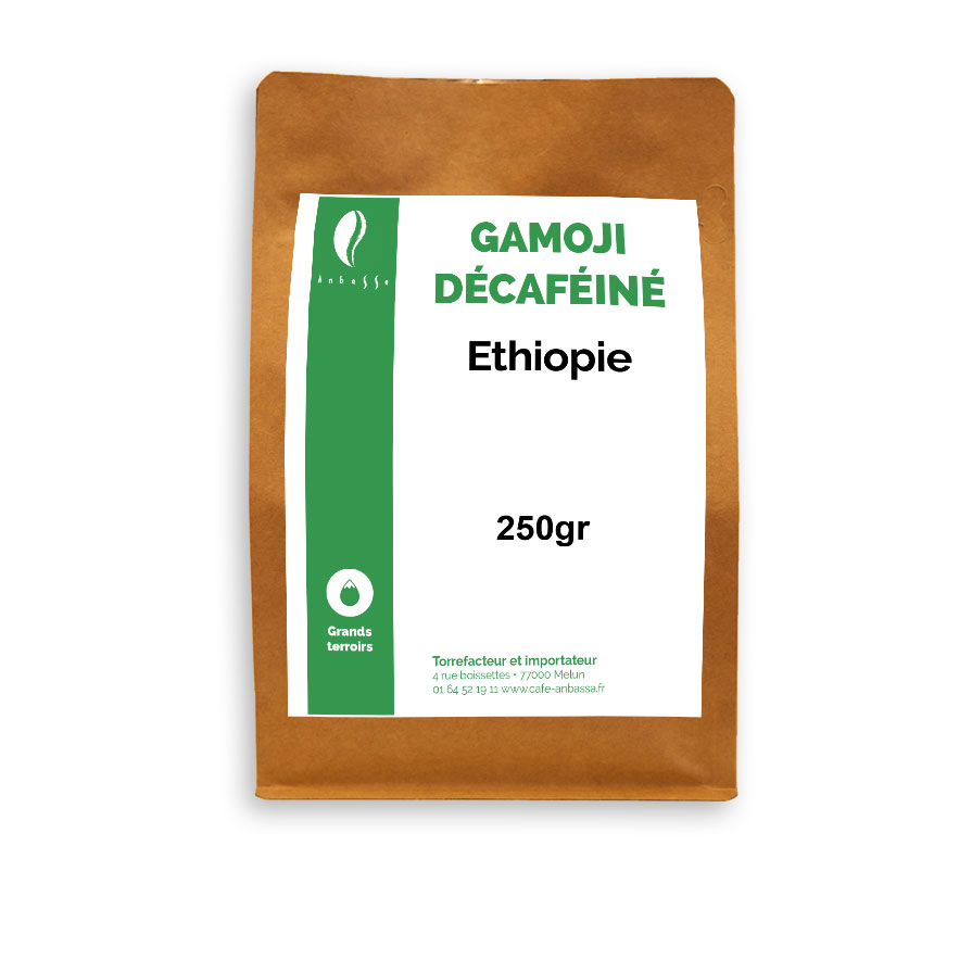 Anbassa Artisan Torrefacteur Grands Terroirs Gamoji Decafeine Ethiopie