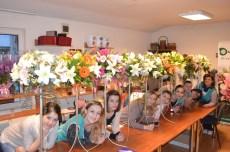 Curs atelierul de flori Anca Vlad