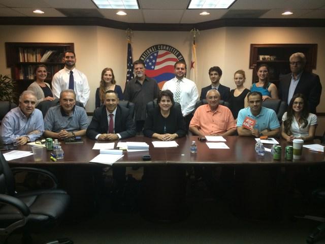 ANCA WR Board of Directors with 2014 Summer Internship Class