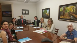 Meeting with the Governor's Office.
