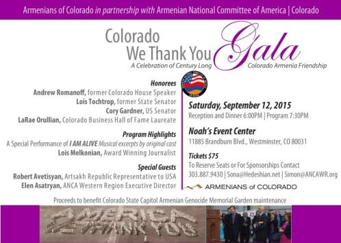 Colorado We Thank You Gala