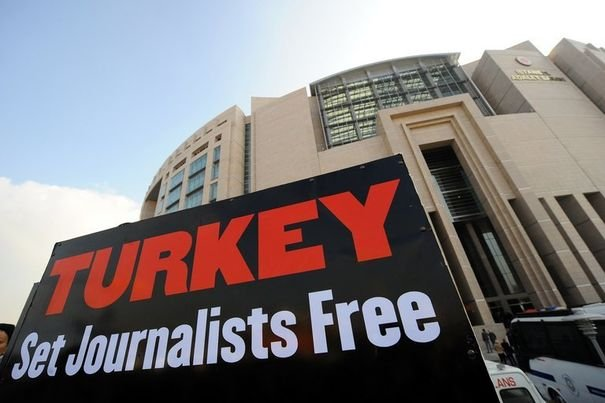 'World's biggest prison' for journalists is Turkey