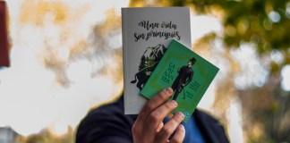 Víctor Malumián muestra sus libros preferidos editados por Godot.