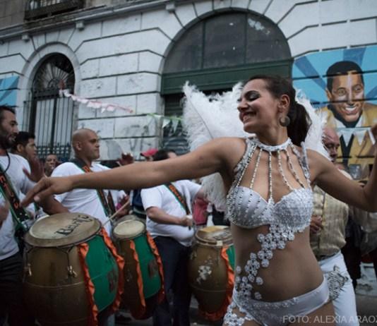 Bailarina de candombe