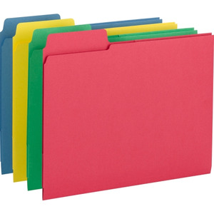 Smead 3-in-1 SuperTab Section Folder
