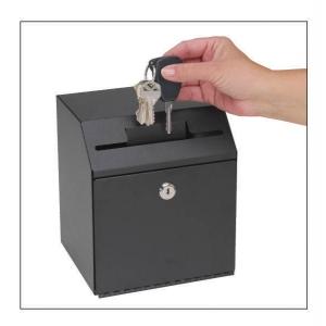 MMF Industries STEELMASTER Lockable Suggestion Drop Box