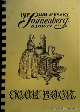 Sonnenberg Cook Book