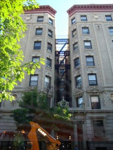Historic house at 537 W. 149th Street, NYC