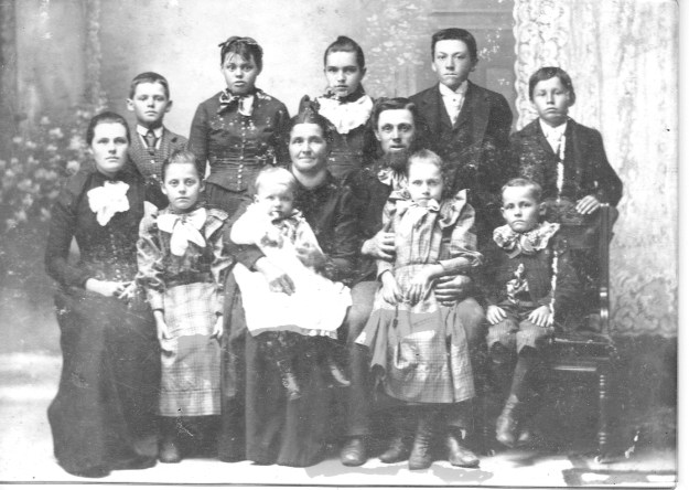 Swiss Immigrant Father of Ida Amstutz and family