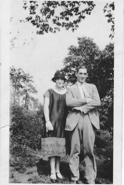 Sarah and Bill  Anderson 1925