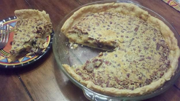 Badertscher raisin pie