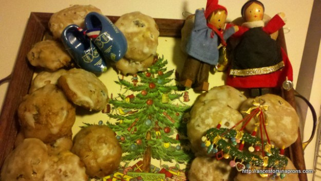 Pfefferneuse cookies and ornaments