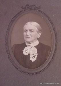 Emmeline Cochran Stout, maker of the crazy quilt