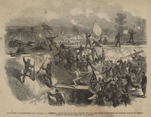 Union victory at Arkansas Post