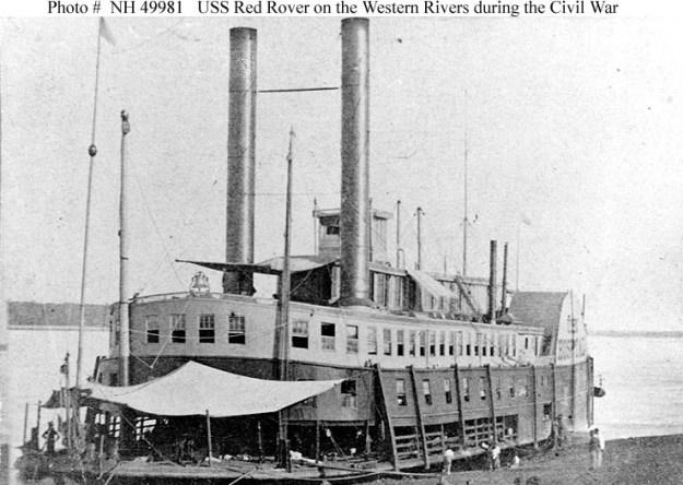 Civil War hospital ship Red Rover