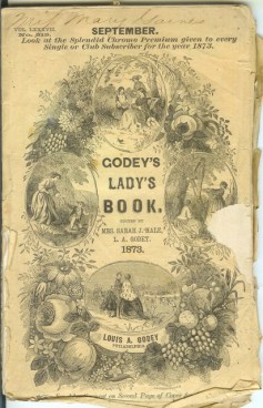 American Food History-Godey's