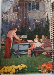 Recipe for grilled chicken from this book.