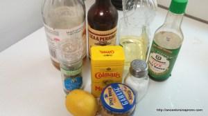 Grilled chicken marinade ingredients