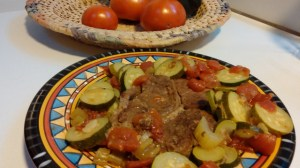 Pot Roast with Zucchini