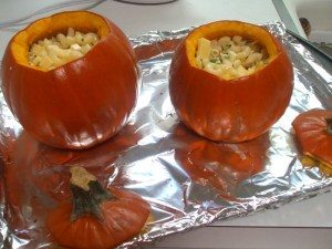 Macaroni in a Pumpkin