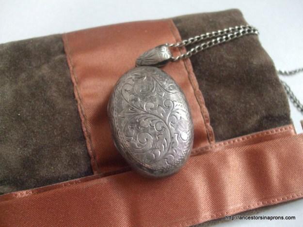 Harriette's silver pendant