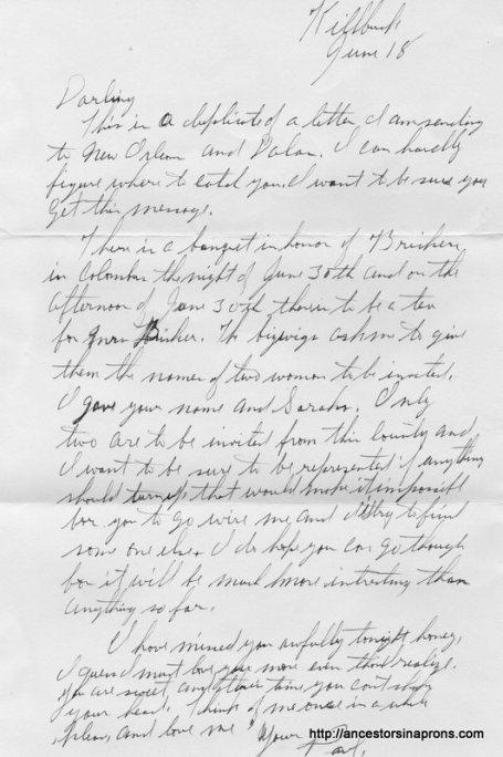 Love letter about politics