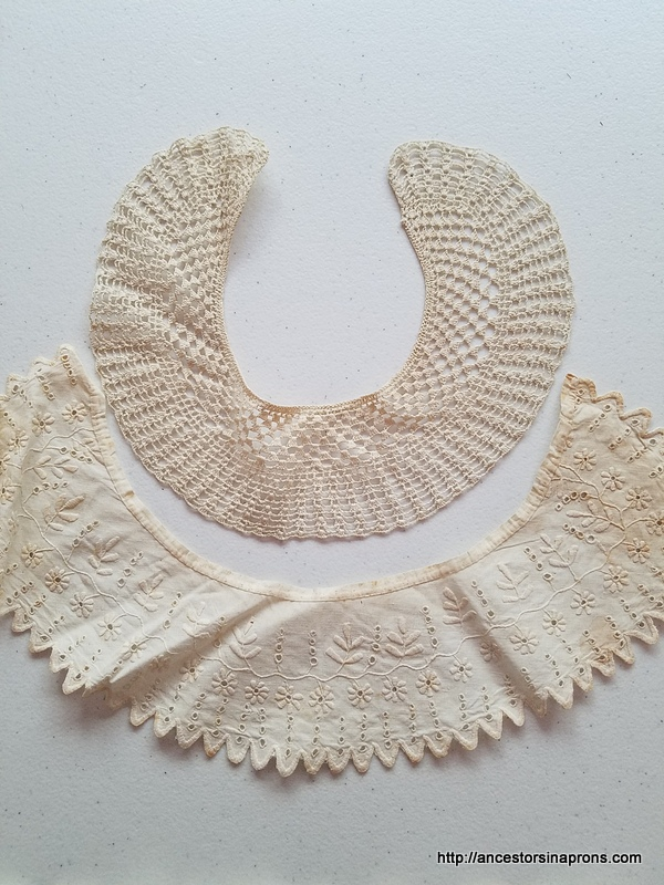 lace collar made by Mary Bassett