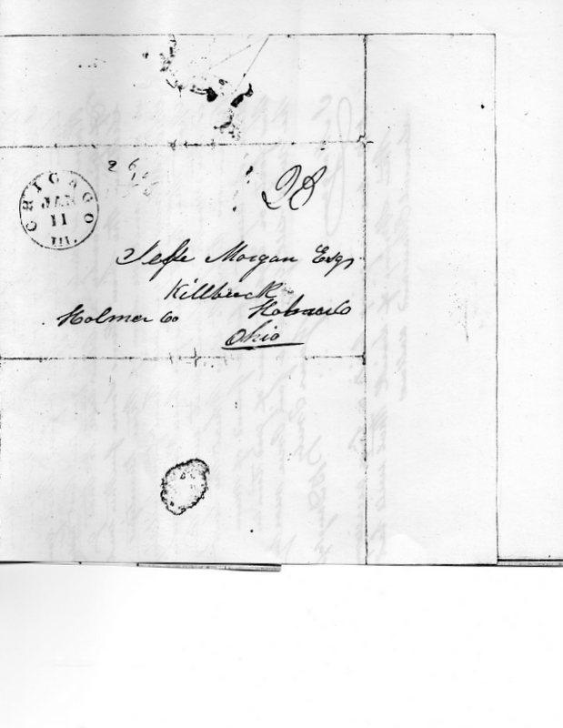 1845 letter
