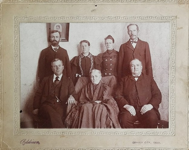 Emeline Stout Family late 1890s