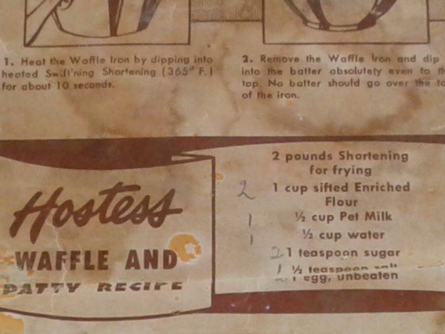 Waffle Iron Cookie Recipe