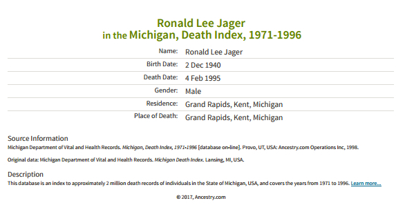 Ronald Lee Jager | Ancestor Speak Voices of the Past