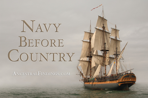 Navy Before Country - Ancestral Findings