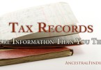 Tax Records: More Information Than You Think