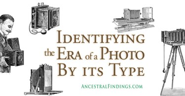 Identifying the Era of a Photo By its Type