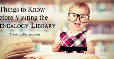 6 Things to Know Before Visiting the Genealogy Library