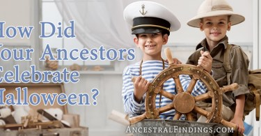 How Did Your Ancestors Celebrate Halloween?