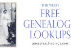 Free Genealogy Lookups