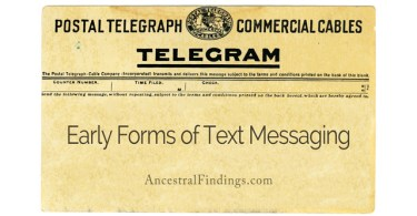 Early Forms of Text Messaging