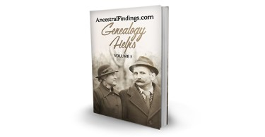 Genealogy Helps #5