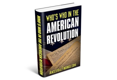 Who's Who in the American Revolution — (Free eBook)