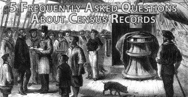 5 Frequently Asked Questions About Census Records
