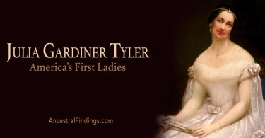 America's First Ladies, #10 – Julia Gardiner Tyler