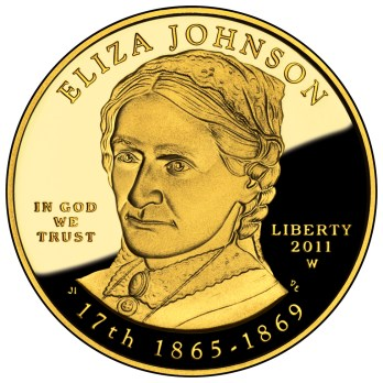 First Lady Eliza McCardle Johnson Coin