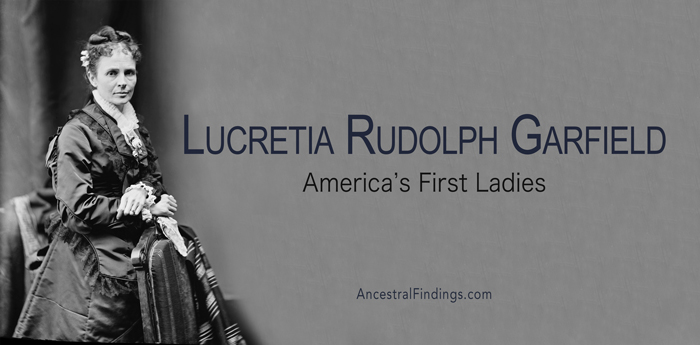 America's First Ladies, #20 - Lucretia Rudolph Garfield