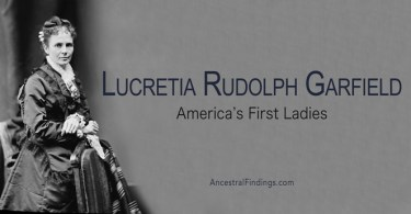 America's First Ladies, #20 - Lucretia Rudolph Garfield