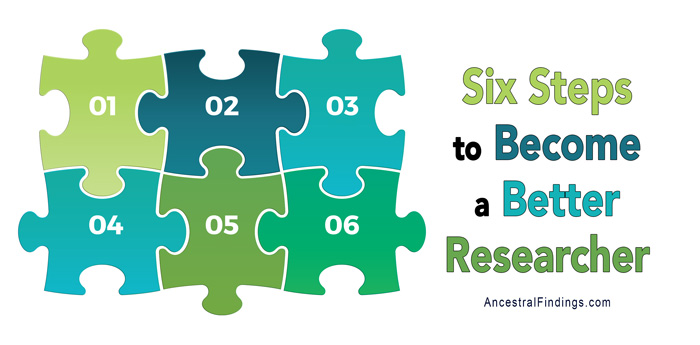 Six Steps to Become a Better Researcher