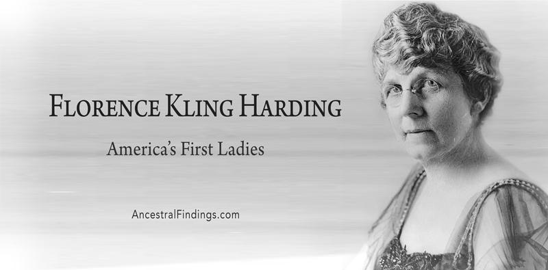 America's First Ladies, #29 - Florence Kling Harding