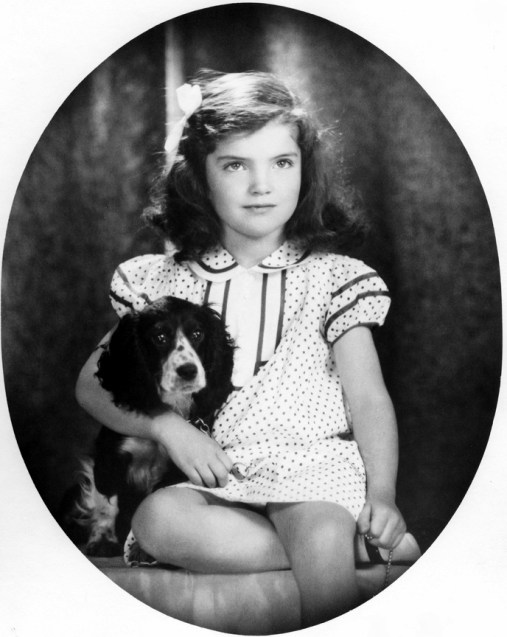 PX 81-32:51 Jacqueline Bouvier, 1935. Photograph by David Berne, in the John F. Kennedy Presidential Library and Museum, Boston.