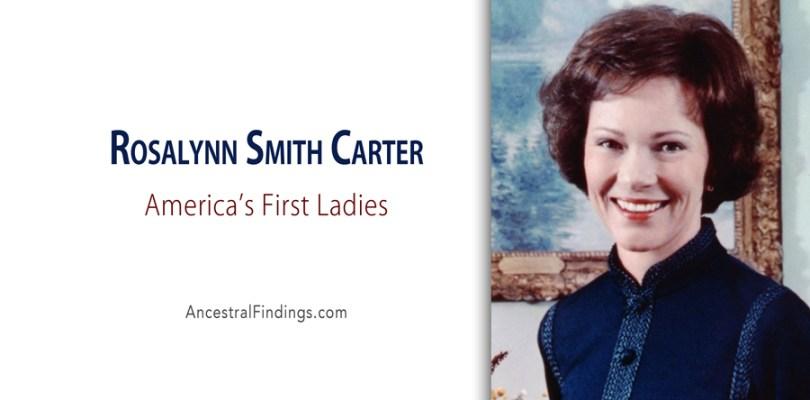 America's First Ladies, #39 - Rosalynn Smith Carter