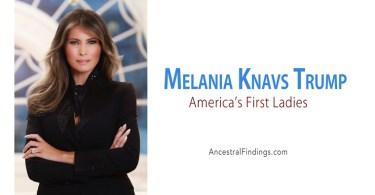 America's First Ladies, #44: Melania Knavs Trump
